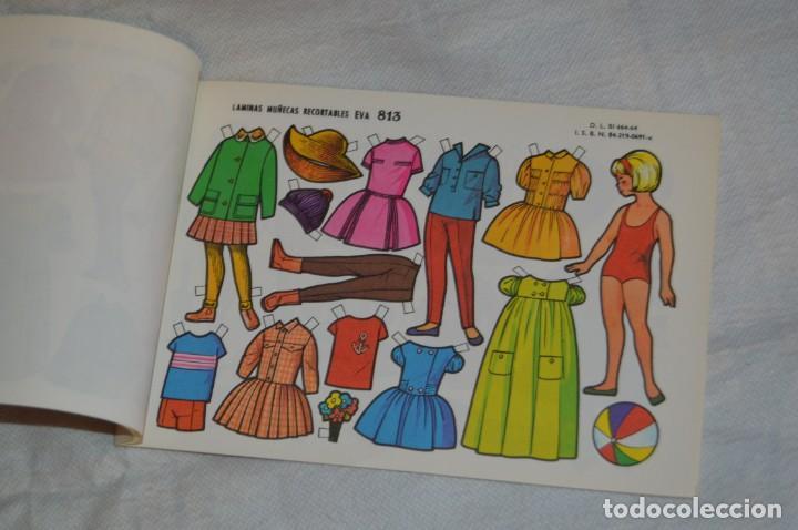 Coleccionismo Recortables: Vintage - LIBRITO CON 10 LÁMINAS DE MUÑECAS RECORTABLES EVA - 10 LÁMINAS DIFERENTES - ENVÍO 24H - Foto 5 - 147768782