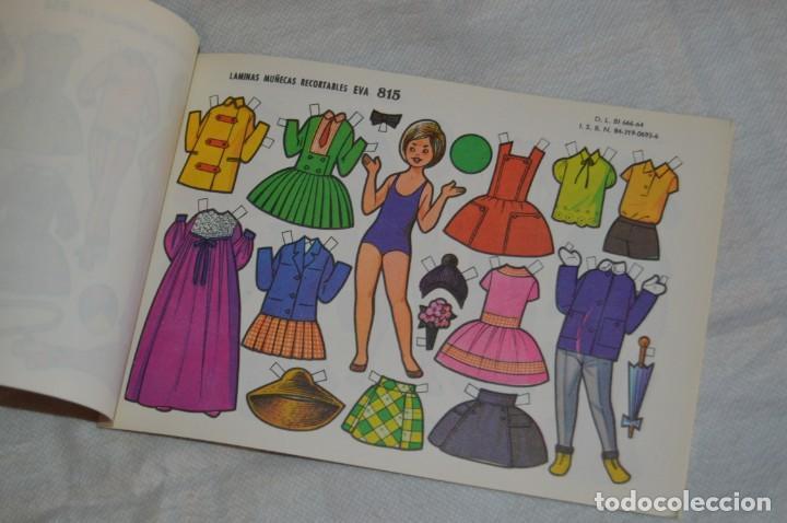 Coleccionismo Recortables: Vintage - LIBRITO CON 10 LÁMINAS DE MUÑECAS RECORTABLES EVA - 10 LÁMINAS DIFERENTES - ENVÍO 24H - Foto 7 - 147768782