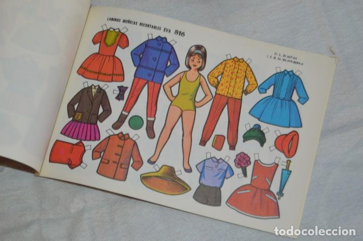 Coleccionismo Recortables: Vintage - LIBRITO CON 10 LÁMINAS DE MUÑECAS RECORTABLES EVA - 10 LÁMINAS DIFERENTES - ENVÍO 24H - Foto 8 - 147768782