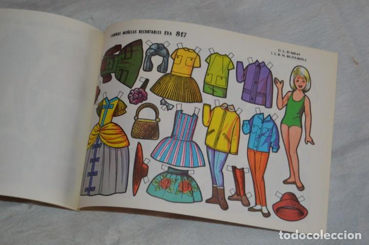 Coleccionismo Recortables: Vintage - LIBRITO CON 10 LÁMINAS DE MUÑECAS RECORTABLES EVA - 10 LÁMINAS DIFERENTES - ENVÍO 24H - Foto 9 - 147768782
