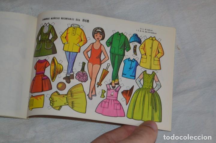 Coleccionismo Recortables: Vintage - LIBRITO CON 10 LÁMINAS DE MUÑECAS RECORTABLES EVA - 10 LÁMINAS DIFERENTES - ENVÍO 24H - Foto 10 - 147768782