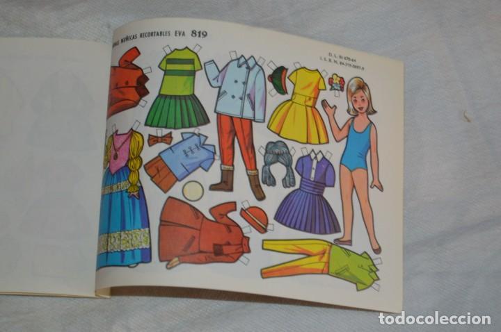 Coleccionismo Recortables: Vintage - LIBRITO CON 10 LÁMINAS DE MUÑECAS RECORTABLES EVA - 10 LÁMINAS DIFERENTES - ENVÍO 24H - Foto 11 - 147768782