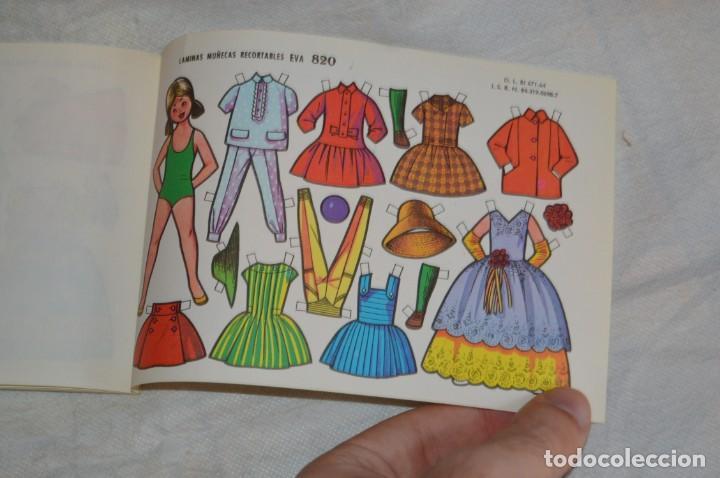 Coleccionismo Recortables: Vintage - LIBRITO CON 10 LÁMINAS DE MUÑECAS RECORTABLES EVA - 10 LÁMINAS DIFERENTES - ENVÍO 24H - Foto 12 - 147768782