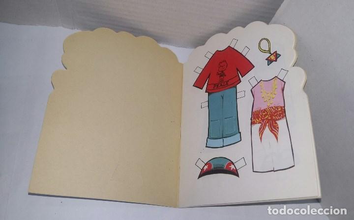 Coleccionismo Recortables: MUÑECAS RECORTABLES MARIA PASCUAL. MAGDA + ANA. REGALO EXPOSITOR. EDICIONES TORAY.NUEVO.1989.ALEGRES - Foto 5 - 140192366