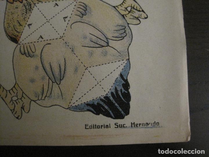 Coleccionismo Recortables: MUÑECA RECORTABLE ANTIGUA- MARIQUITA Y SUS GALLINAS - Nº 64 - ED·SUC·HERNANDO -VER FOTOS- (V-15.300) - Foto 8 - 140911398