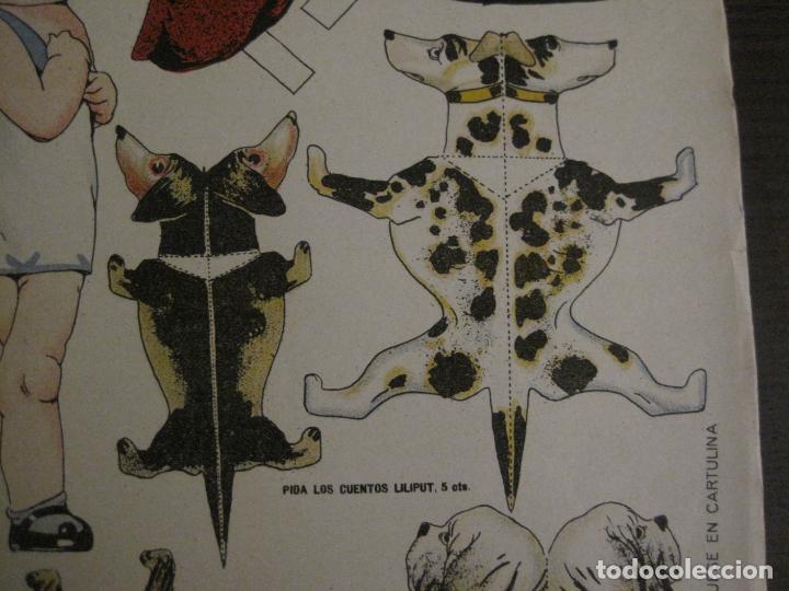 Coleccionismo Recortables: MUÑECA RECORTABLE ANTIGUA- MARIQUITA Y SUS PERRITOS - Nº 65 - ED·SUC·HERNANDO -VER FOTOS-(V-15.301) - Foto 8 - 140911718