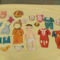 Coleccionismo Recortables: RECORTABLES FAMOSA, BABY PIS. Lote 141342950