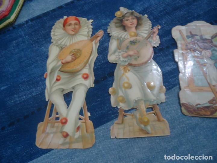 Coleccionismo Recortables: lote de 5 antiguos recortables para pegar años 30 - Foto 2 - 141823814