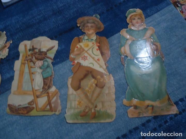 Coleccionismo Recortables: lote de 5 antiguos recortables para pegar años 30 - Foto 3 - 141823814