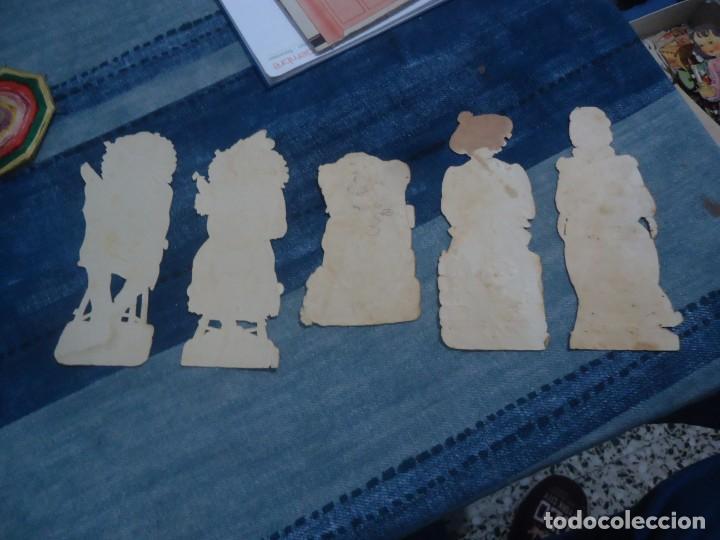 Coleccionismo Recortables: lote de 5 antiguos recortables para pegar años 30 - Foto 4 - 141823814