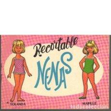 Coleccionismo Recortables: RECORTABLE NENAS 4. YOLANDA Y MARILUZ. Lote 131029656