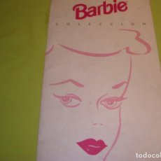 Coleccionismo Recortables: CATALOGO BARBIE Y EL COLECCIONISMO!!!DE MATTEL!! LEER DESCRIPCIÓN!!!. Lote 144652558
