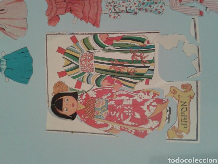 Coleccionismo Recortables: Diferentes recortables para niñas. Mediados siglo XX. - Foto 3 - 145530529
