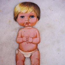 Coleccionismo Recortables: RECORTABLE DE BABY MOCOSETE. Lote 145535518