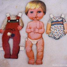 Coleccionismo Recortables: RECORTABLE DE BABY MOCOSETE, CONJUNTOS PASEO Y MAYO. Lote 145535922