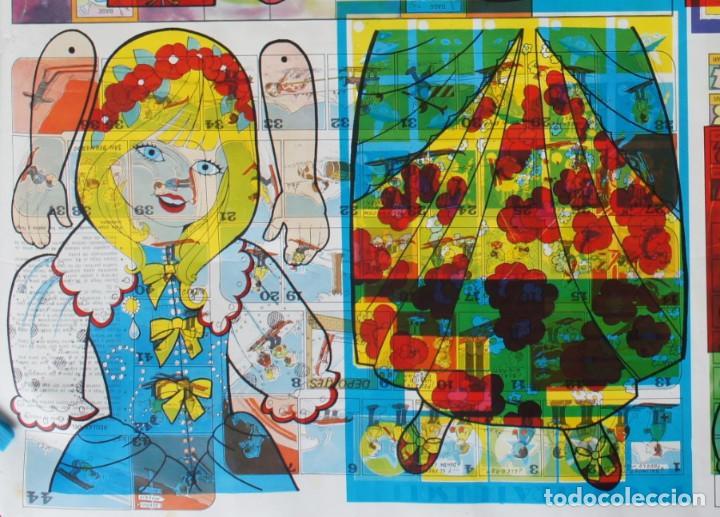Coleccionismo Recortables: Prueba/error impresión de recortables de cuentos. Blanca Nieves, Cenicienta, Patito Feo, Caperucita - Foto 9 - 146704606