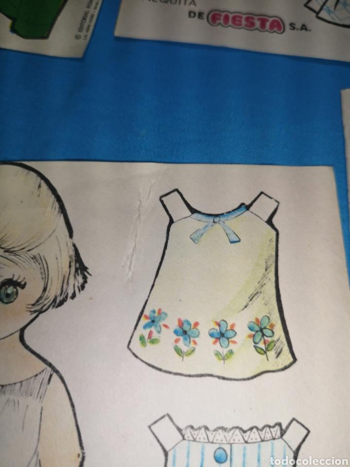 Coleccionismo Recortables: Lote de 17 recortables chicle muñequita de la marca fiesta. Ed. Roma, Barcelona 1970 - Foto 9 - 147210742
