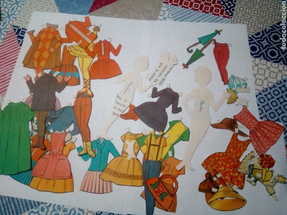 Coleccionismo Recortables: lote antiguo recortables muñecas - Foto 4 - 147727870