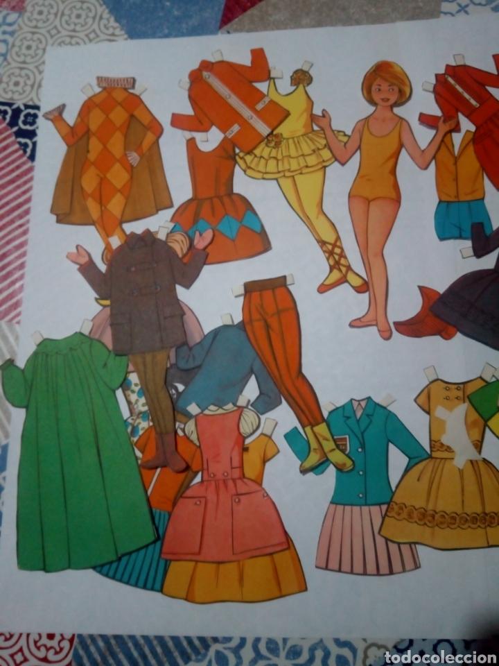Coleccionismo Recortables: lote antiguo recortables muñecas - Foto 3 - 147727870
