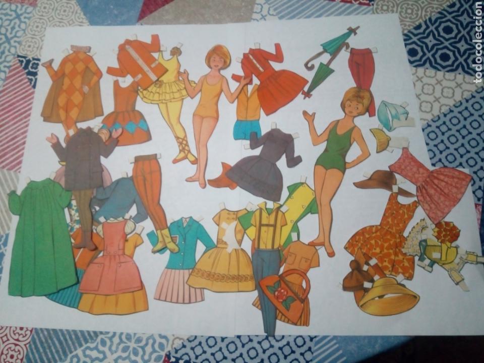 LOTE ANTIGUO RECORTABLES MUÑECAS (Coleccionismo - Recortables - Muñecas)