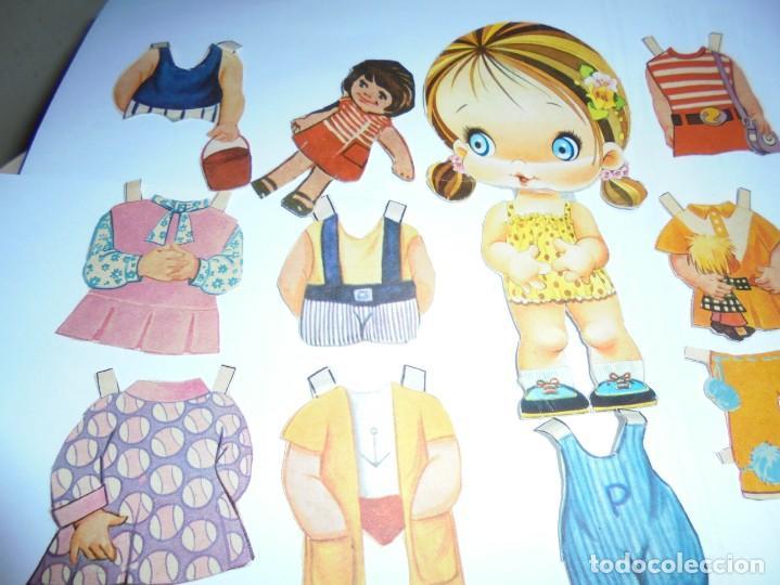Coleccionismo Recortables: magnifica muñeca recortable en total 25 piezas - Foto 2 - 149576494
