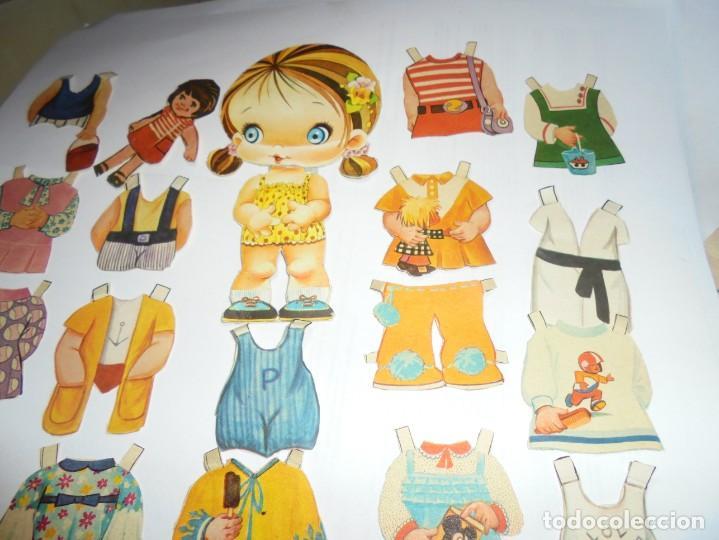 Coleccionismo Recortables: magnifica muñeca recortable en total 25 piezas - Foto 3 - 149576494