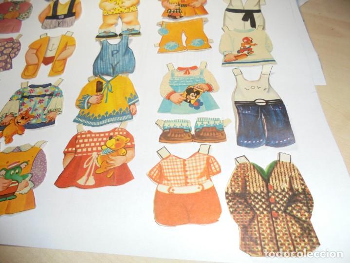Coleccionismo Recortables: magnifica muñeca recortable en total 25 piezas - Foto 4 - 149576494