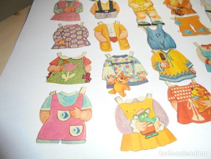 Coleccionismo Recortables: magnifica muñeca recortable en total 25 piezas - Foto 5 - 149576494