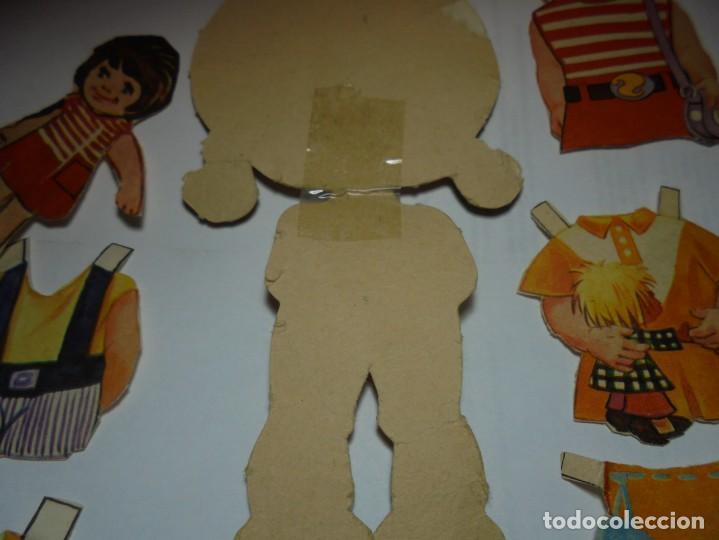Coleccionismo Recortables: magnifica muñeca recortable en total 25 piezas - Foto 6 - 149576494