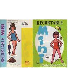 Coleccionismo Recortables: MINI EVA Nº 10: INÉS Y CLARITA. Lote 59577235