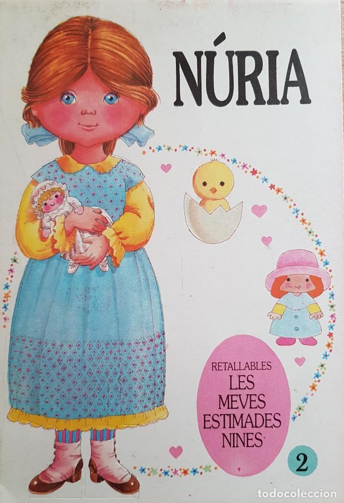 NÚRIA MUÑECA RECORTABLE - MIS QUERIDAS MUÑECAS - BRUGUERA 1985 (Coleccionismo - Recortables - Muñecas)