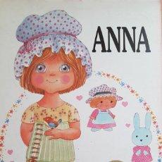 Coleccionismo Recortables: ANNA MUÑECA RECORTABLE - MIS QUERIDAS MUÑECAS - BRUGUERA 1985. Lote 149686686