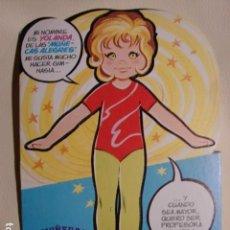 Colecionismo Recortáveis: COLECCIÓN MUÑECAS RECORTABLES MARÍA PASCUAL - Nº 22 - MUÑECA RECORTABLE YOLANDA - EDICIÓN 1981. Lote 150335972