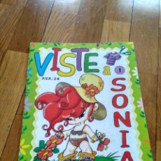 Coleccionismo Recortables: LIBRO DE RECORTABLES DE MUÑECA VISTE A SONIA AÑO 2009. Lote 151160022