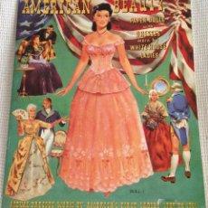 Coleccionismo Recortables: RECORTABLES, VESTIDOS DE MUÑECAS, AMERICAN BEAUTY (20 VESTIDOS). Lote 153102622