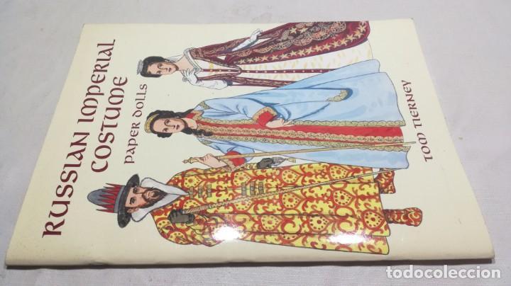 RUSSIAN IMPERIAL COSTUME PAPER DOLLS - MUÑECAS PAPEL IMPERIAL RUSO (Coleccionismo - Recortables - Muñecas)