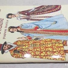 Coleccionismo Recortables: RUSSIAN IMPERIAL COSTUME PAPER DOLLS - MUÑECAS PAPEL IMPERIAL RUSO. Lote 153193462