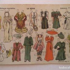 Coleccionismo Recortables: MUÑECAS RECORTABLES EDICIONES TBO LA NOVIA Nº 12. Lote 155581910