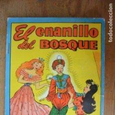 Coleccionismo Recortables: CUENTO EL ENANILLO DEL BOSQUE. COLECCION BLANCANIEVES. CON RECORTABLE BOMBON DIANA. Lote 155588806