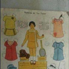Coleccionismo Recortables: HOJA RECORTABLE DE MUÑECAS LA TIJERA. MARUJA SERIE 10 Nº 123. Lote 155697402