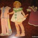 Coleccionismo Recortables: NUEVE RECORTABLES Y FIGURA DE LOS AÑOS 50. Lote 156559722
