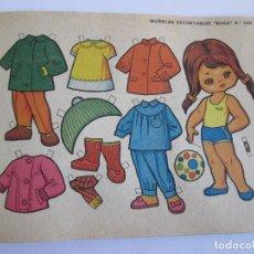 Coleccionismo Recortables: LAMINA MUÑECAS RECORTABLES BOGA Nº 308 - MUÑECA - 17X12. Lote 156737626