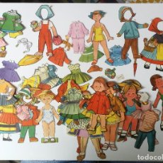 Coleccionismo Recortables: ANTIGUOS RECORTABLES RECORTADOS - AÑOS 30 - ESPAÑA . Lote 157917278