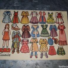 Coleccionismo Recortables: RECORTABLE LUISITA. OBSEQUIO DE LA REVISTA FLORITA.. Lote 159843125