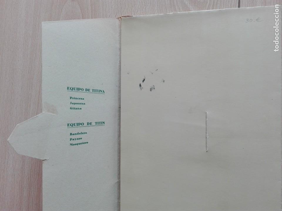 Coleccionismo Recortables: TITINA Y TITIN – ''LA PAREJA DE MODA'' CARPETA Nº 1. - Foto 4 - 161281770