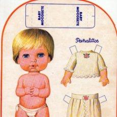 Coleccionismo Recortables: BABY MOCOSETE PAÑALITOS. Lote 162300382