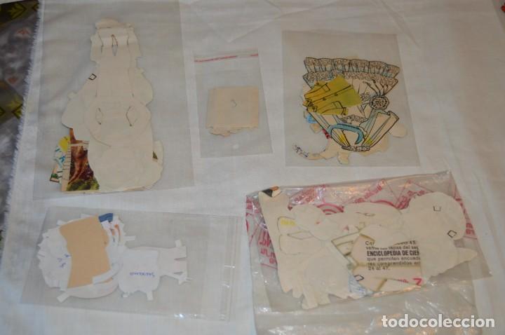 Coleccionismo Recortables: Lotazo de cromos recortables antiguos, muy variados - Cientos de recortables, mira fotos y detalles - Foto 7 - 166191002