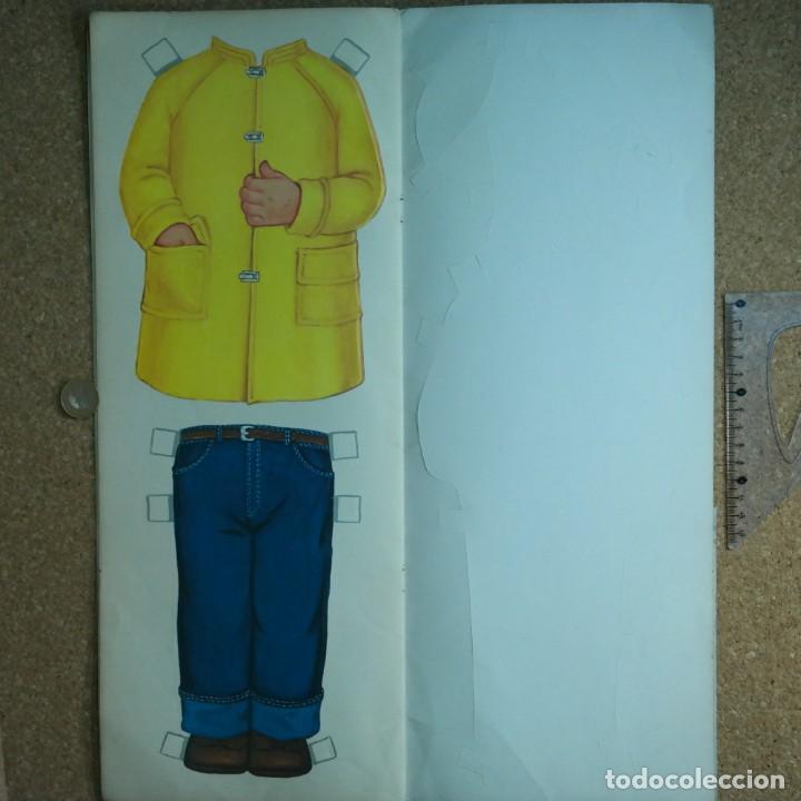 Coleccionismo Recortables: Gran muñeco colegial, Lito Barcelona, vestidos/trajes recortables troquelado - Foto 12 - 167490356
