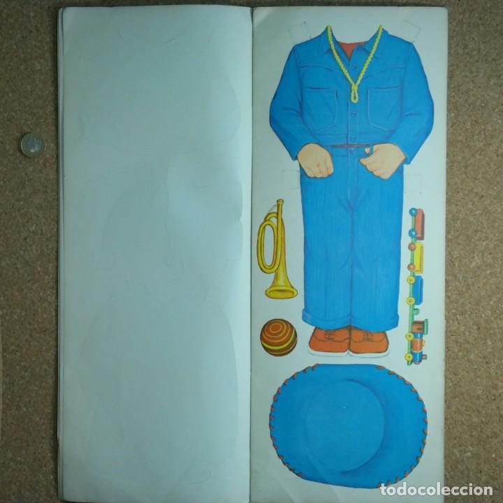Coleccionismo Recortables: Gran muñeco colegial, Lito Barcelona, vestidos/trajes recortables troquelado - Foto 9 - 167490356