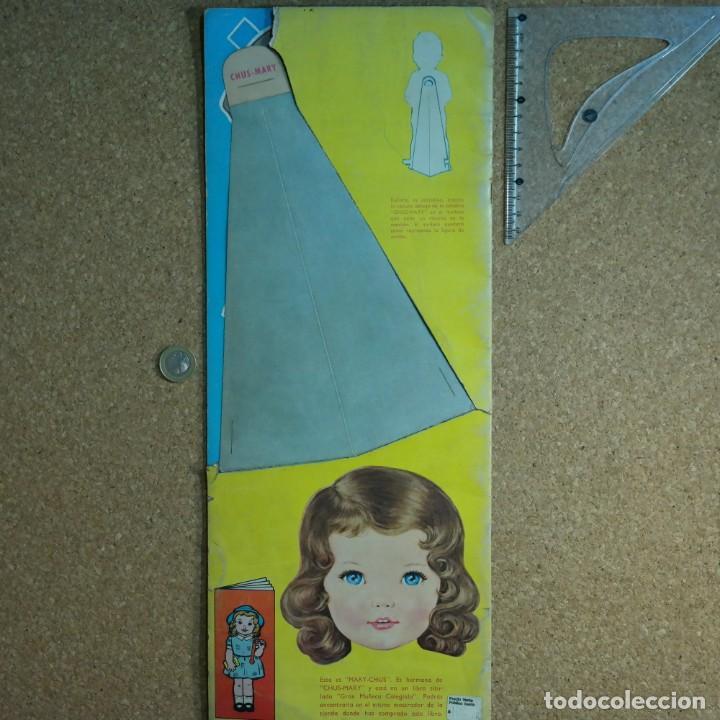 Coleccionismo Recortables: Gran muñeco colegial, Lito Barcelona, vestidos/trajes recortables troquelado - Foto 14 - 167490356